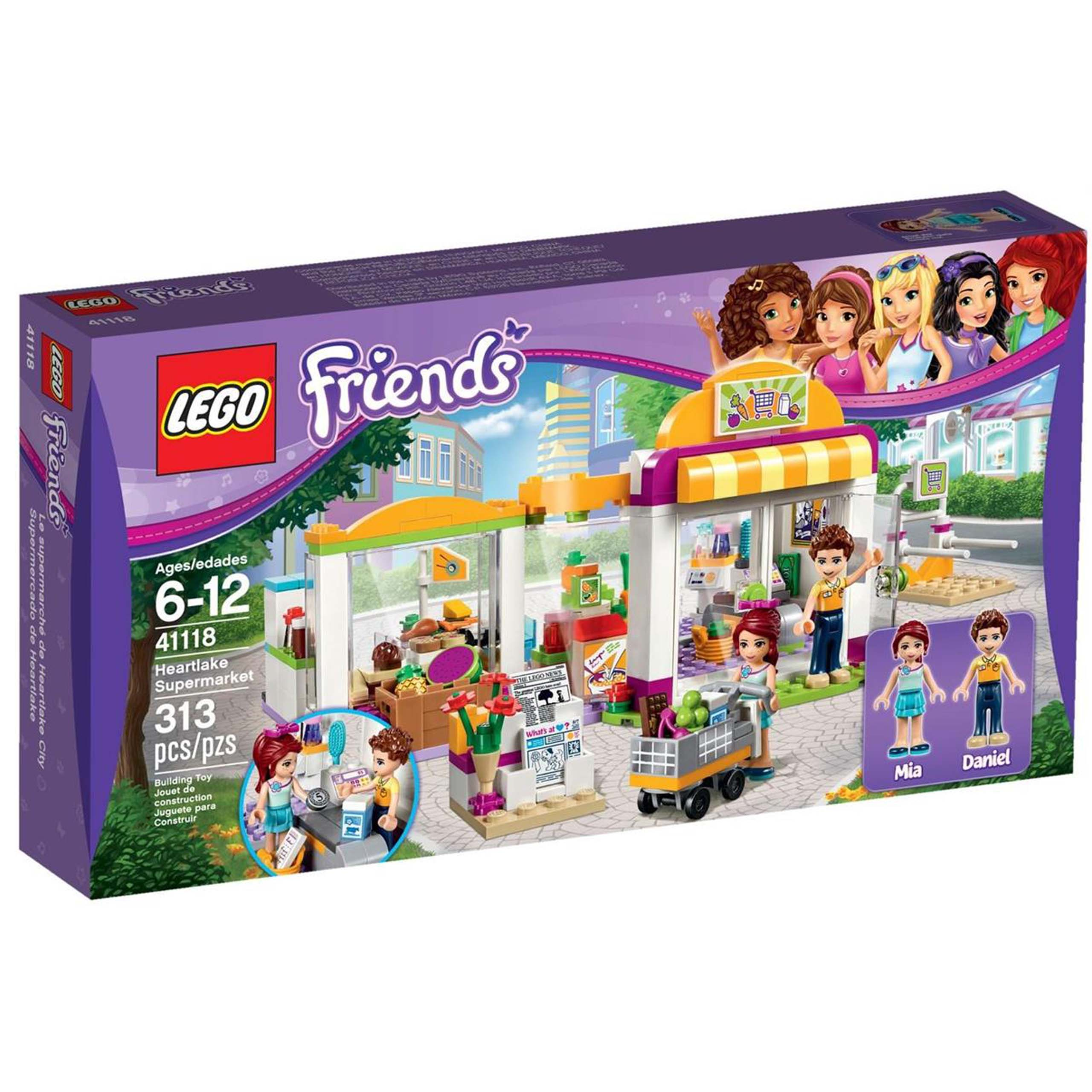 Klocki Lego Friends Supermarket W Heartlake 41118 S Mumo