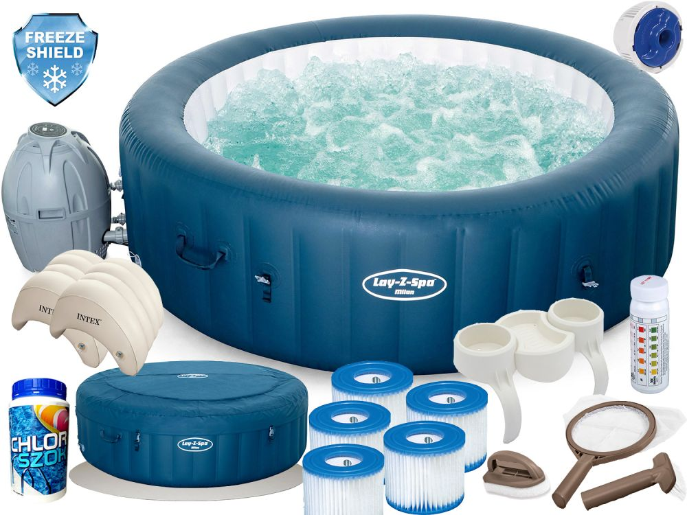 Jacuzzi Bestway Lay-Z-Spa Milan Dmuchane 54184