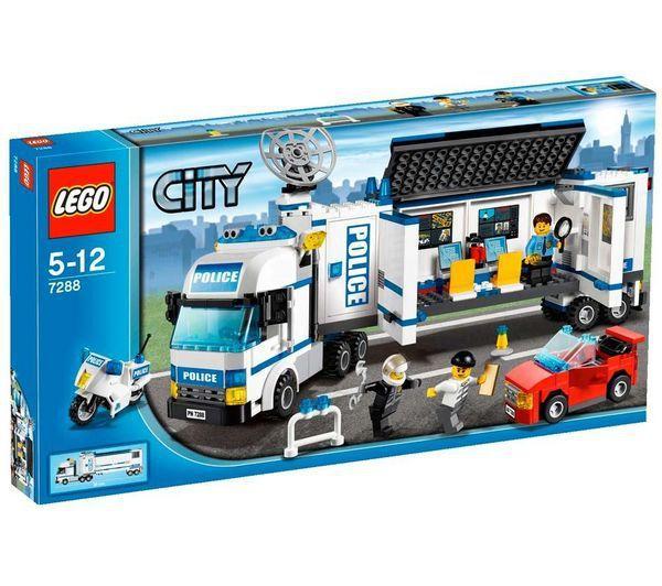 Klocki Lego City Mobilna Jednostka Policji 7288 S Mumo