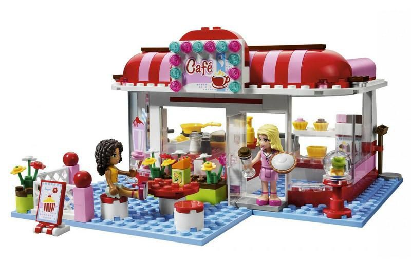 Klocki Lego Friends Kawiarnia 3061 S Mumo