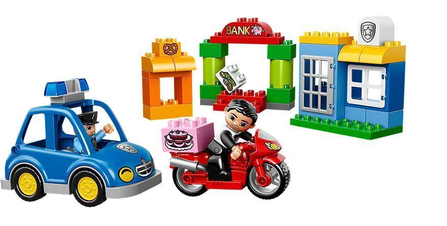 Klocki Lego Duplo Policja Pościg 10532 S Mumo
