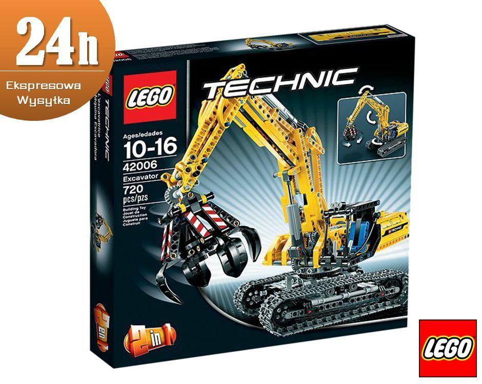 Klocki Lego Technic Koparka 42006 S Mumo