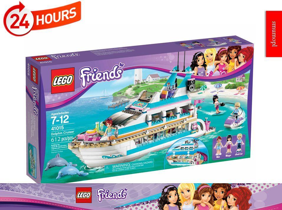 Klocki Lego Friends Jacht Wycieczkowy 41015 S Mumo