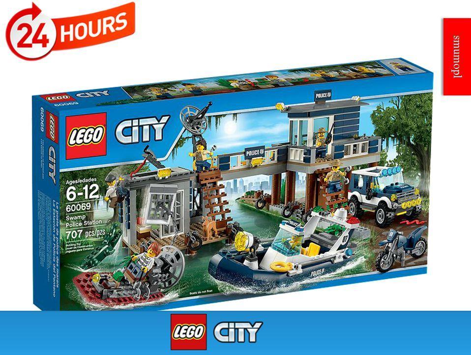 Klocki Lego City Posterunek Policji Z Bagien 60069 S Mumo